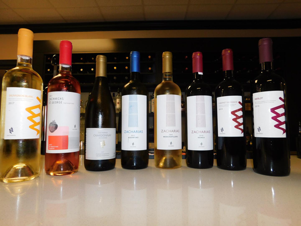 greek restaurant wines